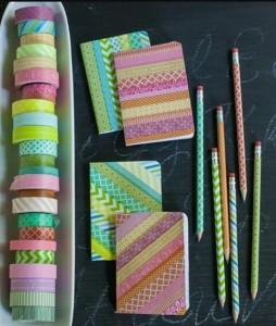 DIY Notebook masking tape