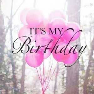 It's my birthday !