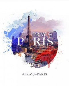 #PrayForParis 2