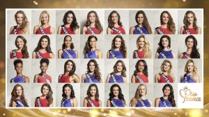 Miss France 2016 Candidates