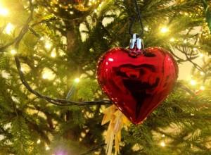 Coeur sapin de Noël